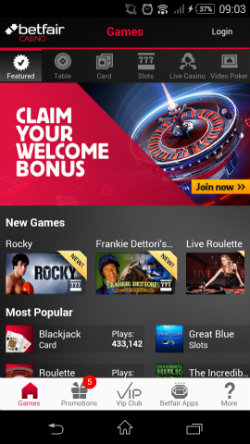 Betfair bet365 mobile casino - 147814
