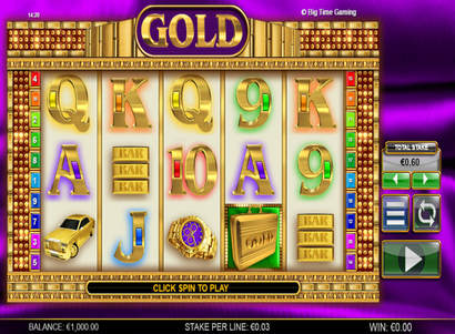 Baccarat gold big time gaming - 182721