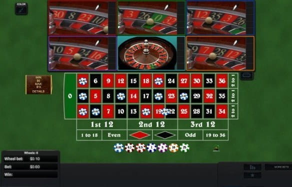 Betmotion games multiwheel roulette - 550696