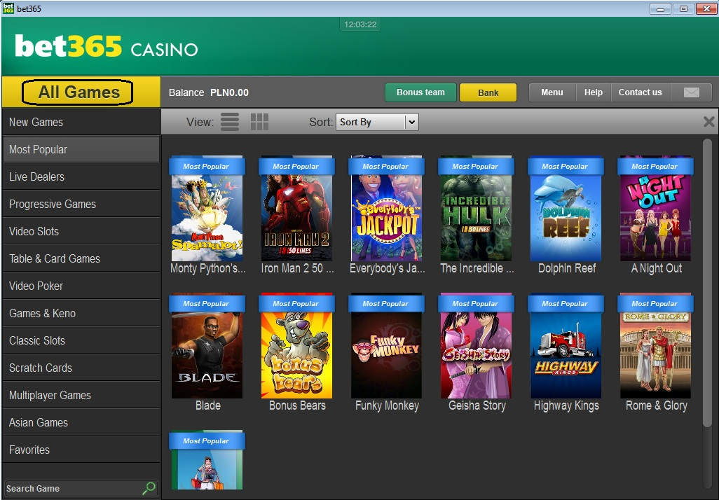 Casinos games warehouse bet365 - 590233